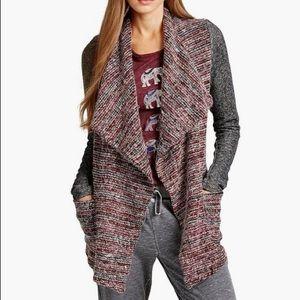 Lucky lotus lucky brand M knit sweater cardigan